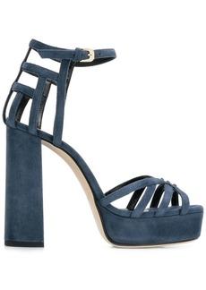 Lanvin strappy block heel sandals