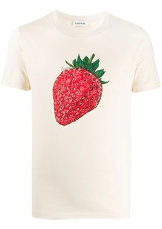 Lanvin strawberry print T-shirt