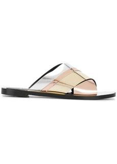 Lanvin stripe sandals