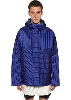 Lanvin Striped Cotton Satin Jacket