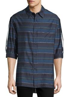 Lanvin Striped Long-Sleeve Shirt