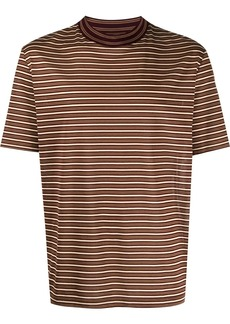 Lanvin striped short sleeve T-shirt