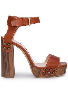 Lanvin stud detail sandals