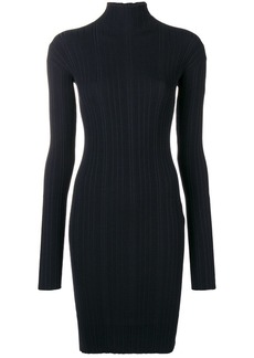 Lanvin sweater fitted dress