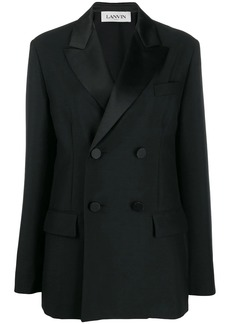 Lanvin tailored double-breasted blazer
