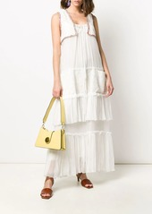 Lanvin tiered ruffle dress