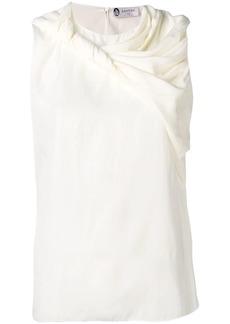 Lanvin twist front sleeveless top