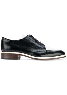 Lanvin two-tone Derby shoes