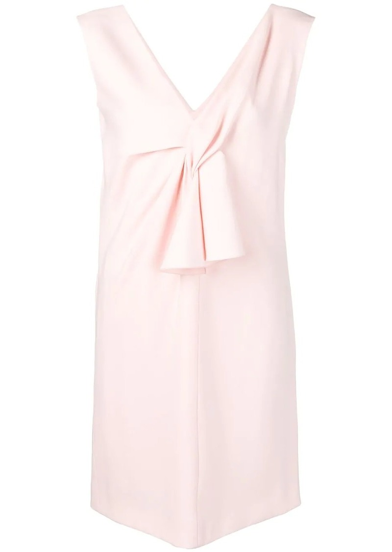 Lanvin v-neck short dress
