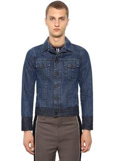Lanvin Washed Cotton Denim Jacket
