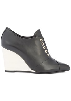 Lanvin wedge laceless shoes