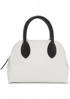 Lanvin White & Black Mini Magot Bag