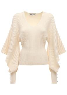 Lanvin Wool & Cashmere Knit Sweater