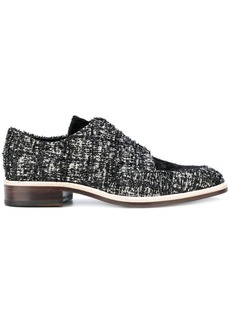 Lanvin woven lace-up shoes