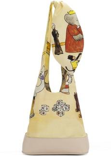 Lanvin Yellow Babar Edition Shoulder Bag