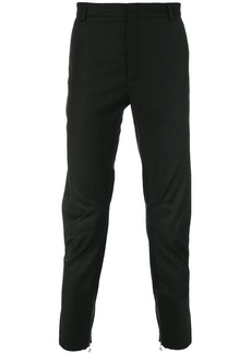 Lanvin zip cuff tailored trousers