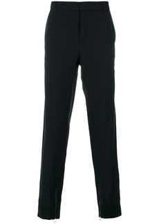 Lanvin zipped cuff tailored trousers