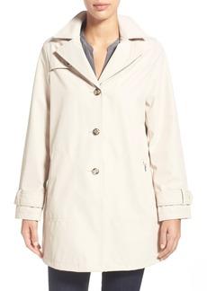 Larry Levine A-Line Raincoat