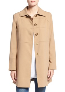 Larry Levine Club Collar Walker Coat