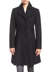 Larry Levine Fit & Flare Coat