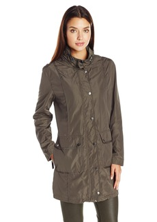LARRY LEVINE Women's 2 Pocket Anorack Jacket  L
