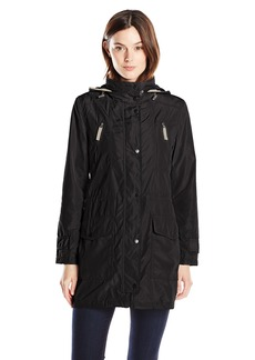 LARRY LEVINE Women's Anorak with Hood