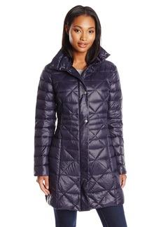 Larry Levine Women's Packable Down Jacket
