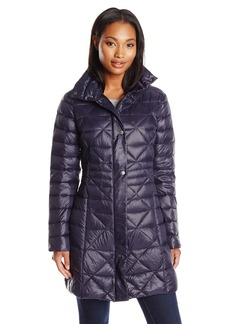 LARRY LEVINE Women's Packable Down Jacket