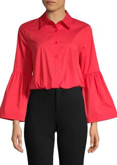 Laundry by Shelli Segal Bell-Sleeve Shirt
