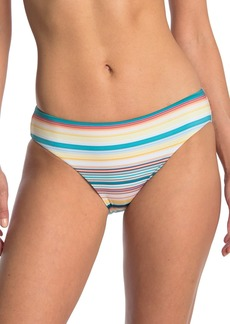 Laundry by Shelli Segal Blue The Lines Hipster Swim Bottoms