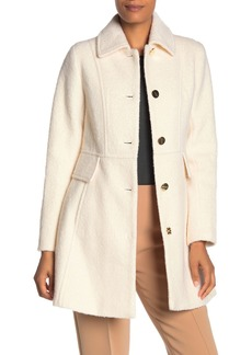 Laundry by Shelli Segal Button Front Coat