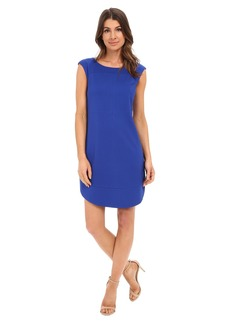 Laundry by Shelli Segal Cap Sleeve Sheath Dress with Seaming