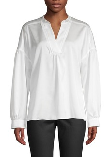 Laundry by Shelli Segal Classic Dropped-Shoulder Top