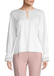 Laundry by Shelli Segal Classic Long-Sleeve Top