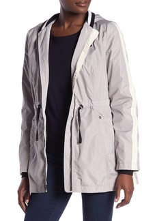 Laundry by Shelli Segal Hooded Windbreaker Jacket