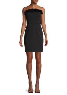 Laundry by Shelli Segal Convertible Strapless Mini Dress