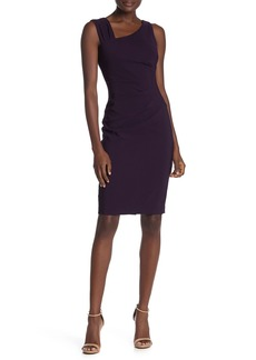 Laundry by Shelli Segal Core Asymmetrical Sheath Dress