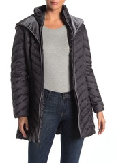 Laundry by Shelli Segal Downs Hooded Puffer Coat