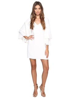 Laundry by Shelli Segal Drop Shoulder Ruffle Bell Sleeve Dress
