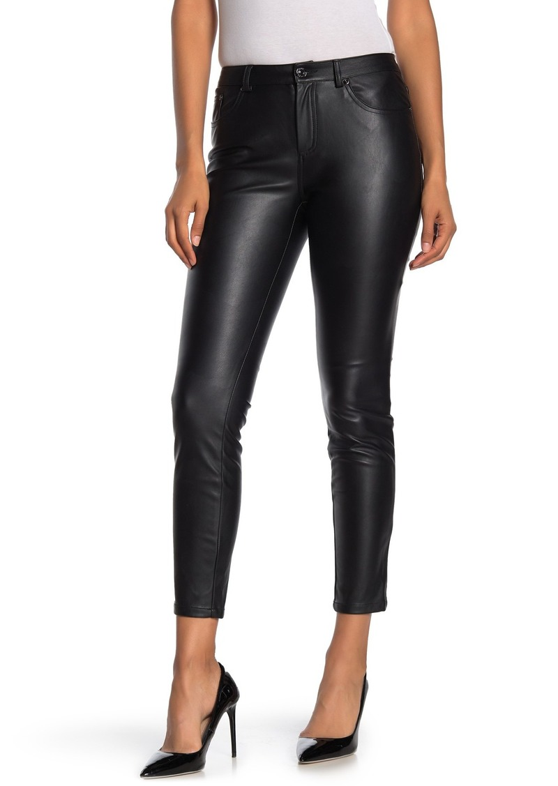 Laundry by Shelli Segal Faux Leather Crop Pants