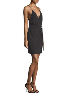 Laundry by Shelli Segal Tie Wrap Dress