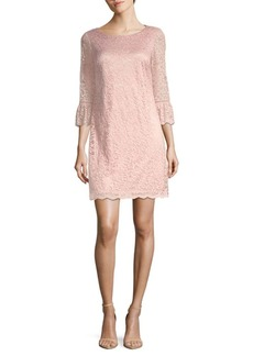 Laundry by Shelli Segal Floral Lace Shift Dress