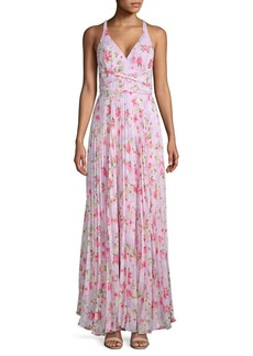 Laundry by Shelli Segal Floral-Print Maxi Dress