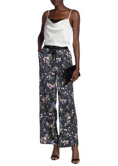 Laundry by Shelli Segal Floral Print Wide Leg Pants