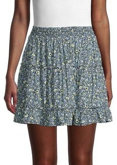 Laundry by Shelli Segal Floral Tiered Skirt