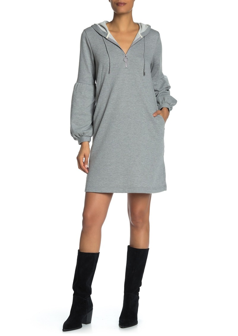 Laundry by Shelli Segal French Terry Hoodie Dress