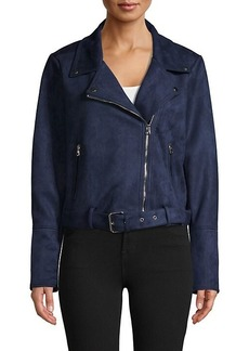 Laundry by Shelli Segal Full-Zip Belted Jacket