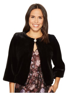 Laundry by Shelli Segal Fur Bolero