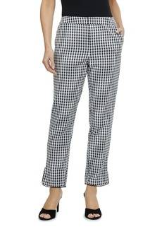 Laundry by Shelli Segal Gingham Ankle Crop Pants