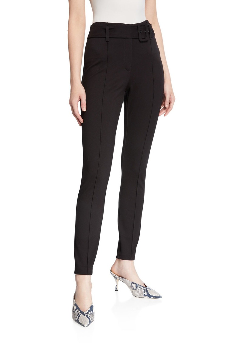 Laundry by Shelli Segal High Waist Piped Ponte Pants